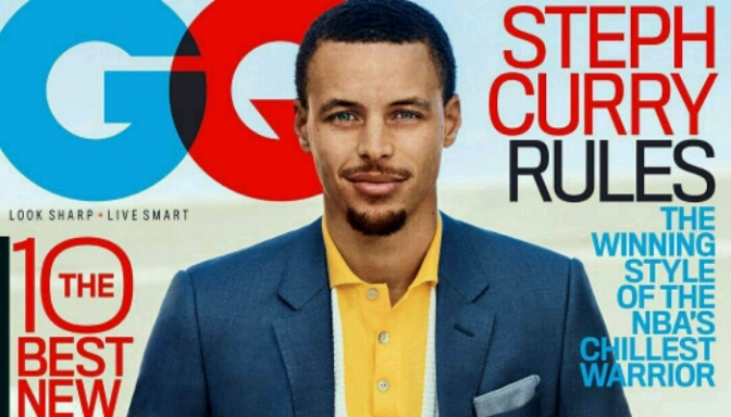 Steph Curry Covers GQ