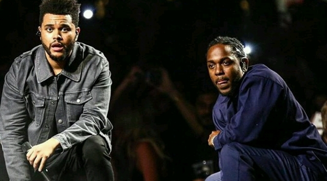 The Weeknd Brought Out Kendrick Lamar In Cali