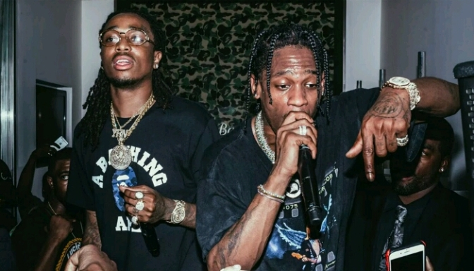 Travi$ Scott Previews Music From Joint Project with Quavo