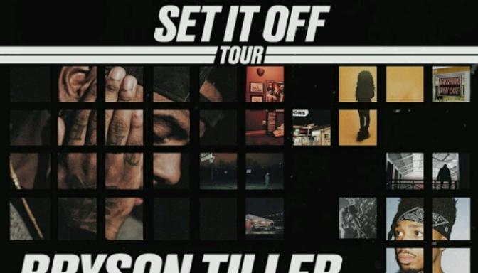 "Bryson Tiller Announces ""Set It Off Tour"" with H.E.R. & Metro Boomin"