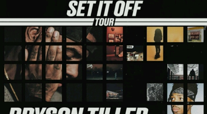 "Bryson Tiller Announces ""Set It Off Tour"" with H.E.R. & Metro Boomin"