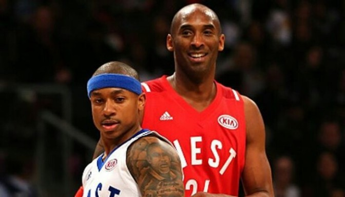 Kobe Bryant Is Helping Isaiah Thomas Breakdown Game Film