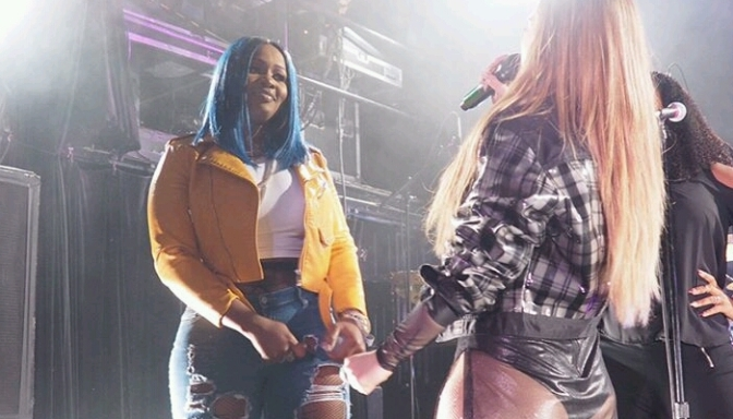 JoJo Brought Out Remy Ma at Irving Plaza