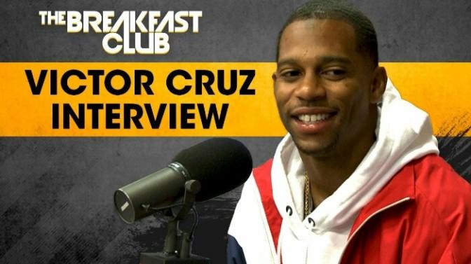 Victor Cruz On The Breakfast Club