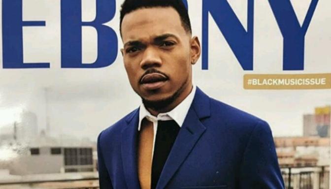 Chance The Rapper Covers EBONY