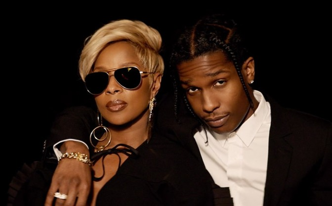 "(Video) Mary J. Blige Feat. A$AP Rocky ""Love Yourself"""