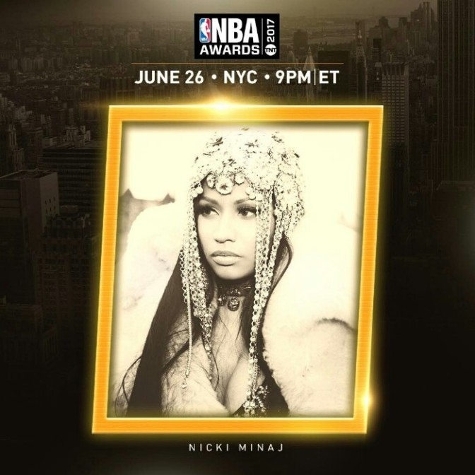 Nicki Minaj will Perform at NBA Awards