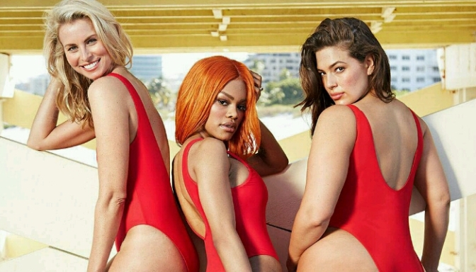 """Ashley Graham, Teyana Taylor & Niki Taylor SLAY In """"Swimsuits For ALL"""" Collection"""