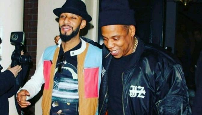 "Swizz Beatz Reveals He & Jay Z Are In ""Album Mode"""
