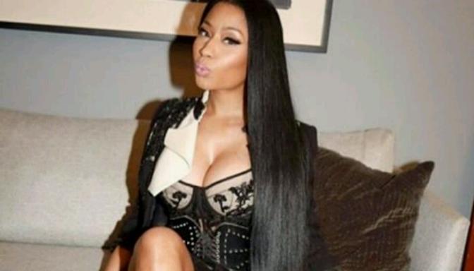 Nicki Minaj Talks Sleepovers with Nas on ELLEN