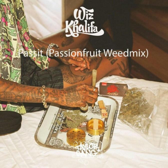 "Wiz Khalifa ""Passit (Passionfruit Weedmix)"""
