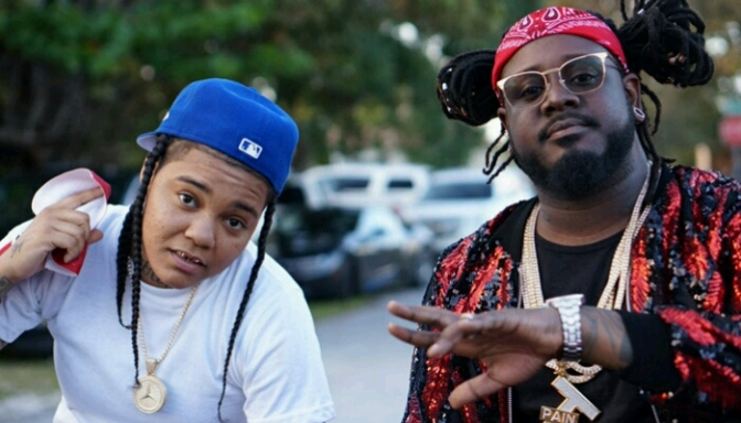 "T-Pain Feat. Young M.A ""F.B.G.M."""