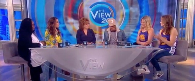 """Chance The Rapper On """"The View"""""""