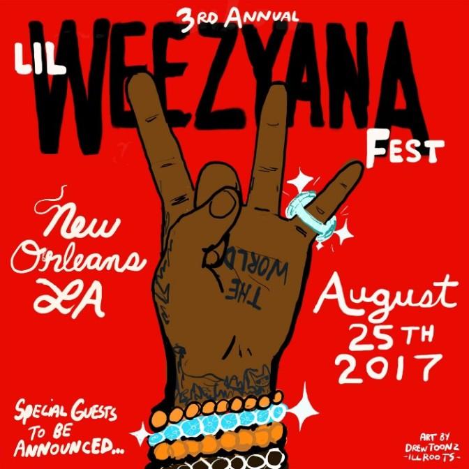 "Lil Wayne Announces 3rd Annual ""Lil Weezyana Fest"""
