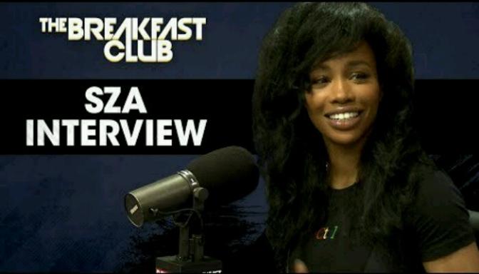 SZA On The Breakfast Club