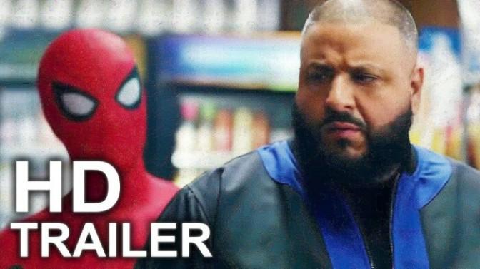 "DJ Khaled Stars In NEW ""Spiderman Homecoming"" Trailer"