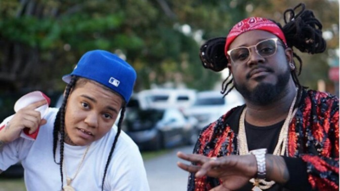 "(Video) T-Pain Feat. Young M.A ""F.B.G.M."""
