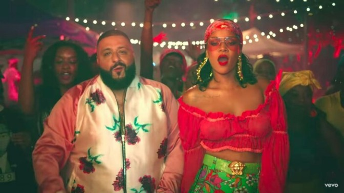 "(Video) DJ Khaled Feat. Rihanna & Bryson Tiller ""Wild Thoughts"""