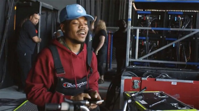 Chance the Rapper Stars In Twitter Commercial
