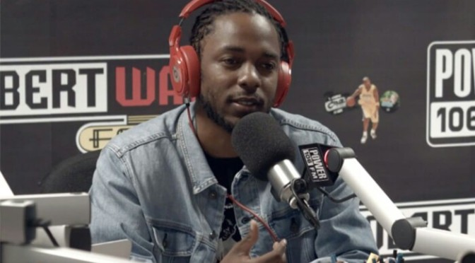 Kendrick Lamar on Damn., His Sister's Car & Being The GOAT