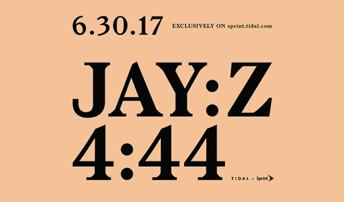 "Jay Z will Drop ""4:44"" On June 30th"