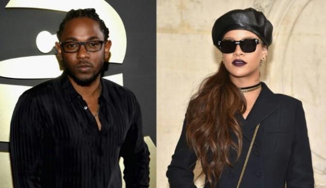 """Kendrick Lamar & Rihanna Shoot """"LOYALTY."""" Video"""