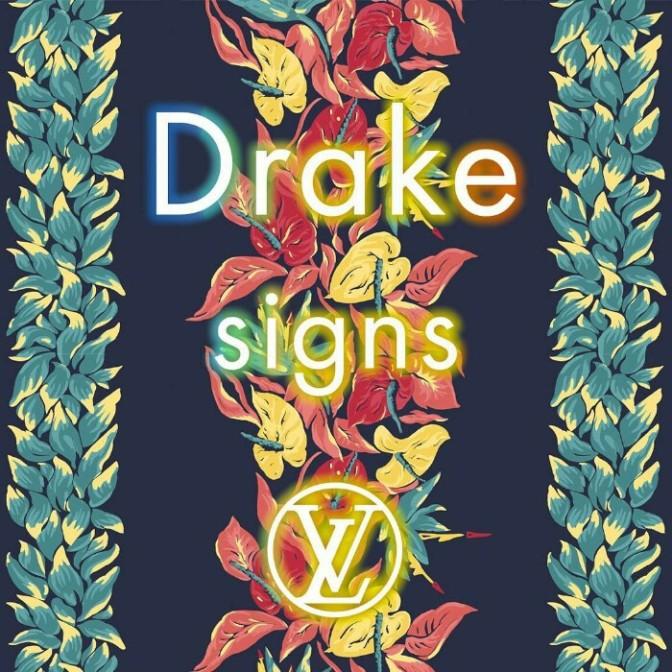 "(Artwork) Drake ""Signs"" (Prod. By 40)"