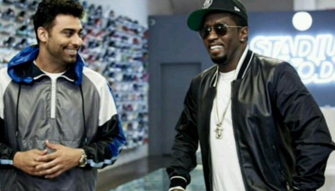 Diddy Goes Sneaker Shopping With Complex