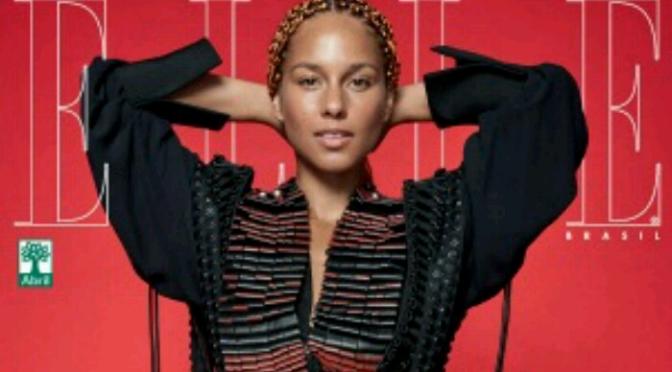Alicia Keys Covers ELLE Brasil