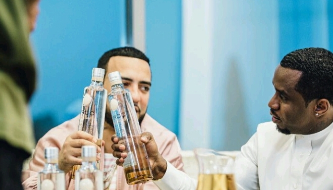 "Diddy & French Montana Announce ""French Vanilla"" Ciroc"