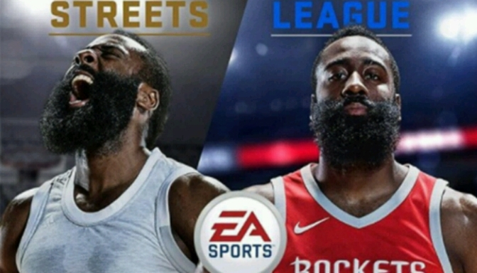 James Harden Covers NBA LIVE 18