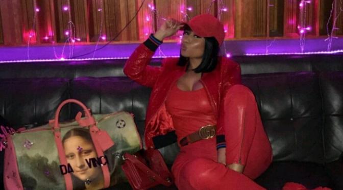 "Nicki Minaj Looking Like ""Peaches"" cc: Jada Pinkett Smith"