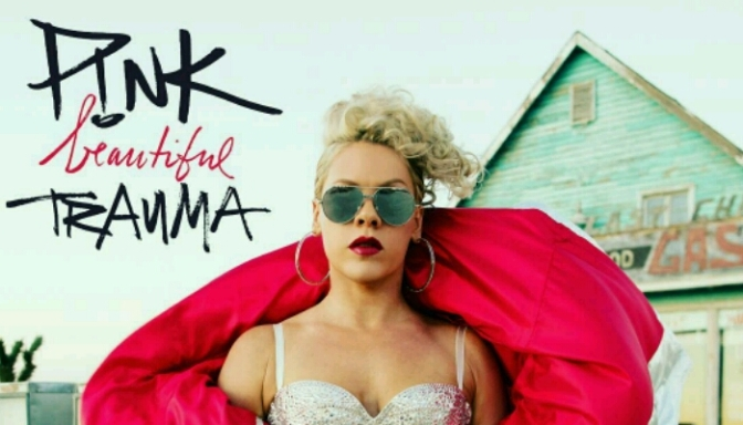 "P!nk Unveils Artwork For Upcoming LP ""Beautiful Trauma"""