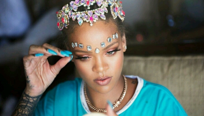 BTS of Rihanna Getting Ready For Crop Over 2017
