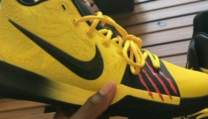 """Kyrie Irving & Kobe Bryant Collaborate On Bruce Lee Edition """"KYRIE3"""""""