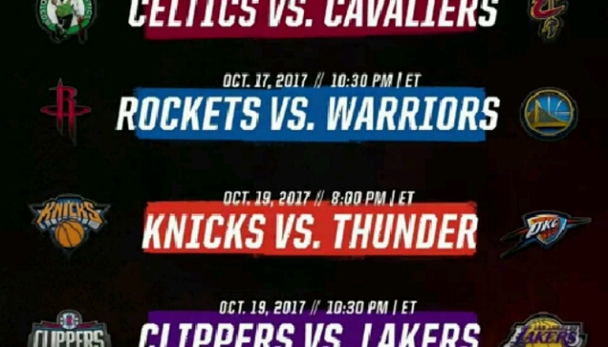 NBA Announces Lineup For Premier Week