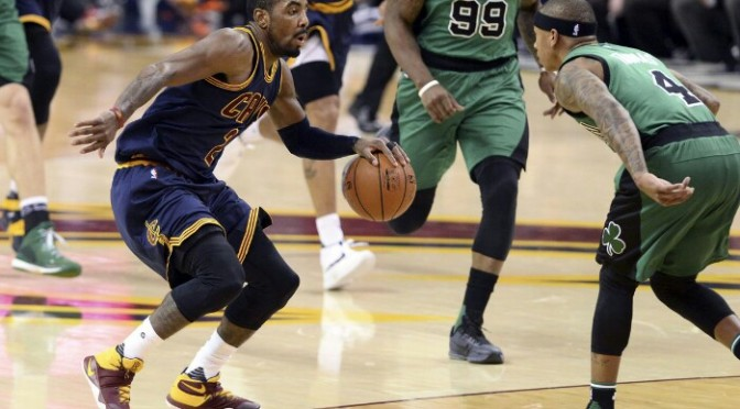 Kyrie Irving Says Goodbye to Cleveland