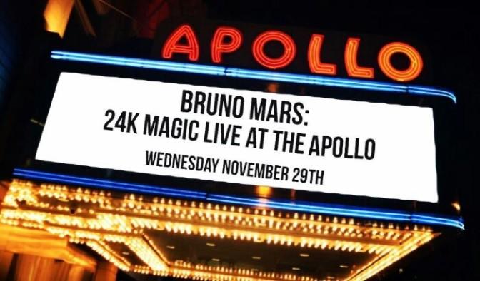 Bruno Mars Announces CBS Primetime Special