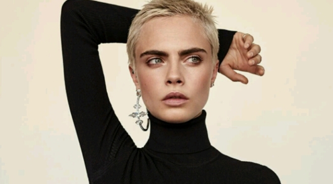 Cara Delevigne Covers The EDIT