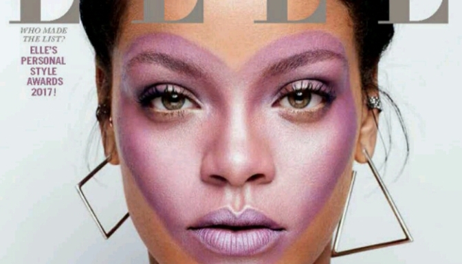 Rihanna Covers ELLE