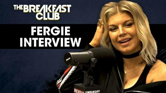 Fergie On The Breakfast Club