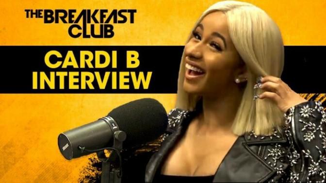 Cardi B On The Breakfast Club