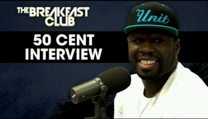 50 Cent on The Breakfast Club
