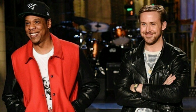 Jay-Z Stars In SNL Promo with Host Ryan Gosling