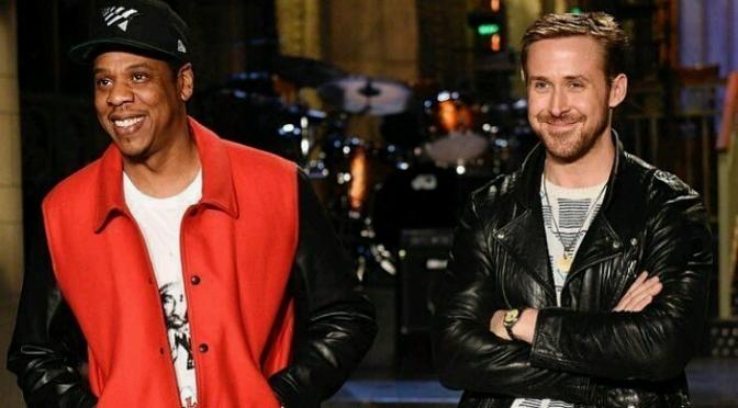 Jay-Z Stars In SNL Promo with Host Ryan Gosling