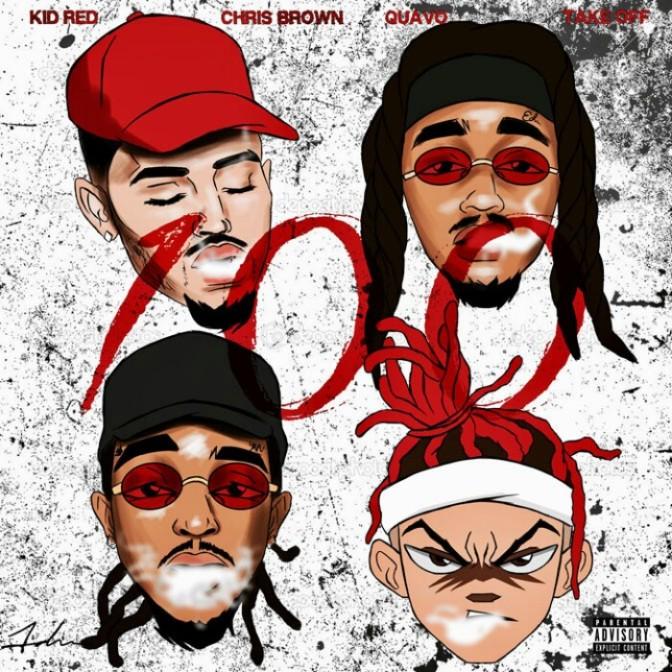 "Kid Red Feat. Chris Brown, Quavo & Takeoff ""100"""