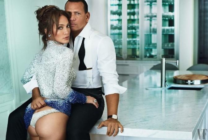 Jennifer Lopez & Alex Rodriguez Cover Vanity Fair