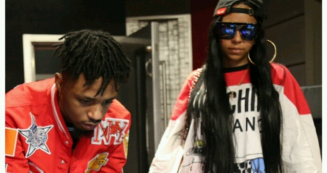Ashanti Hits the Studio with Swae Lee & Metro Boomin