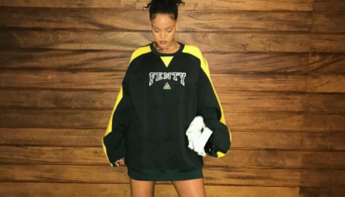 Rihanna Slaying in Her FentyxPuma