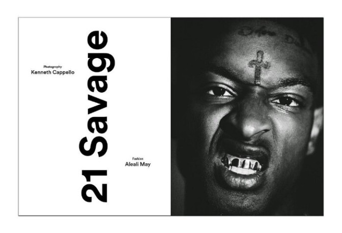 21 Savage Covers Exit Magazine